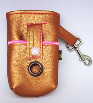 Little Doggy Bag leather_pink
